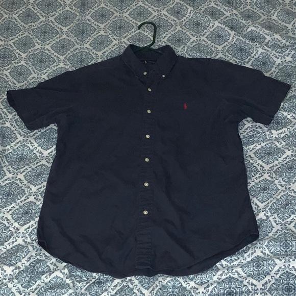 Polo by Ralph Lauren Other - Polo Ralph Lauren Navy Blue Shirt